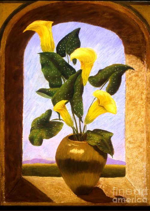 Still Life Greeting Card featuring the painting Tribute To The Dutch Masters by Mary Erbert