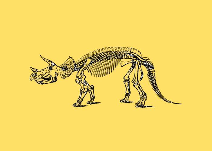 Dinosaurs Drawings Greeting Cards