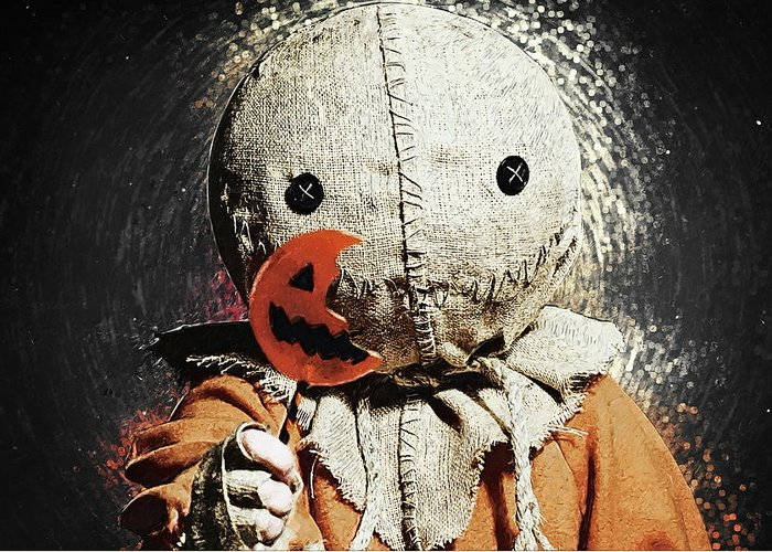 Trick r treat greeting cards fine art america trick r treat greeting cards m4hsunfo Choice Image