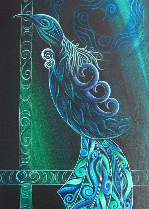 Aotearoa Paintings Greeting Cards