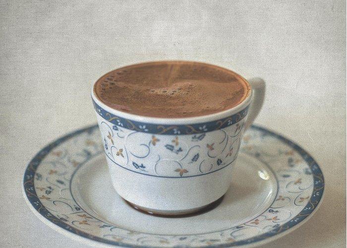 Still Life Greeting Card featuring the photograph Turkish Coffee by Taylan Apukovska