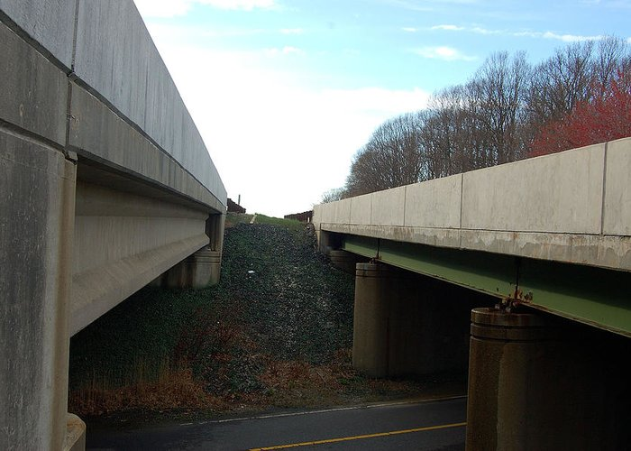 New Jersey Greeting Card featuring the photograph Turnpike Perceptions by Heather S Huston