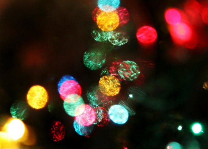 Lights Greeting Card featuring the photograph Twinkle by Denise Irving