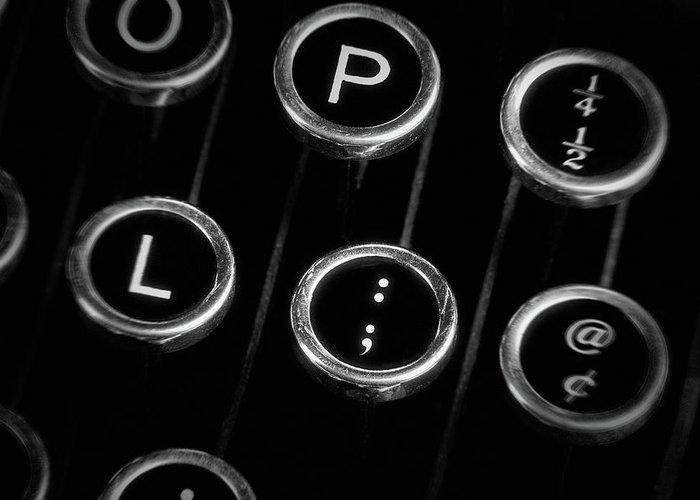 Typewriters Greeting Cards
