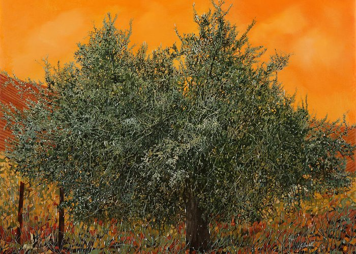 Warm Summer Paintings Greeting Cards