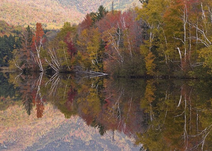 Maine Greeting Card featuring the photograph Umbagog Lake by Henry Krauzyk