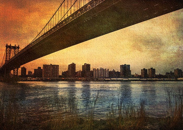 America Greeting Card featuring the photograph Under The Bridge by Svetlana Sewell