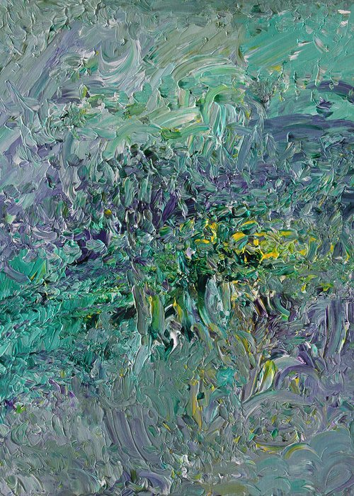 Fusionart Greeting Card featuring the painting Blind Giverny by Ralph White