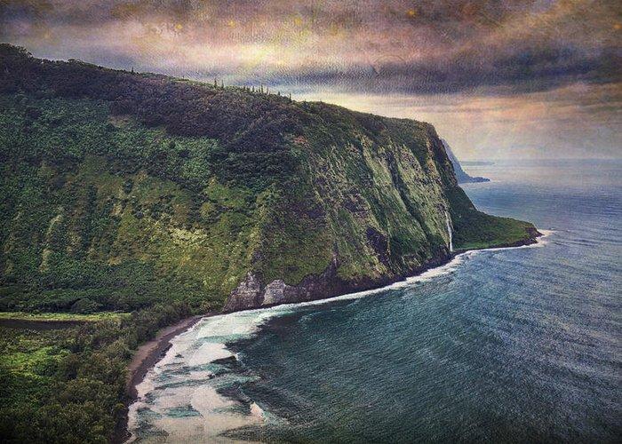Ocean Vista Digital Art Greeting Cards