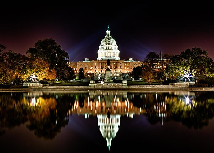 Capitol Building Greeting Cards