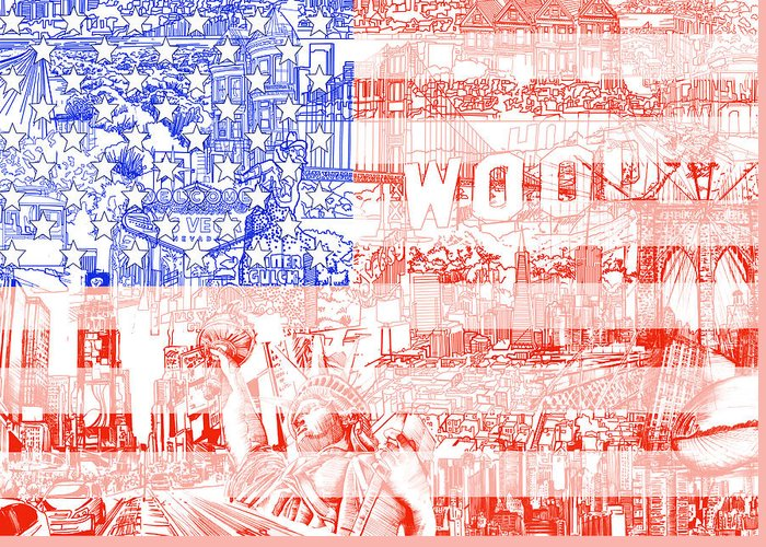 July 4th Image Greeting Cards