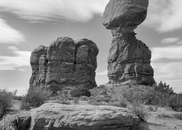 Landscape Greeting Card featuring the photograph Utah Outback 31 by Mike McGlothlen