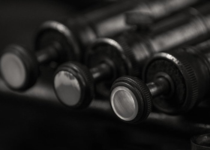 Trumpet Greeting Card featuring the photograph Valves by Eugene Campbell