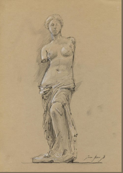 Venus De Milo Greeting Cards