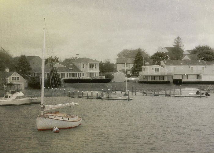 Nantucket Greeting Card featuring the photograph View From The Ferry by JAMART Photography