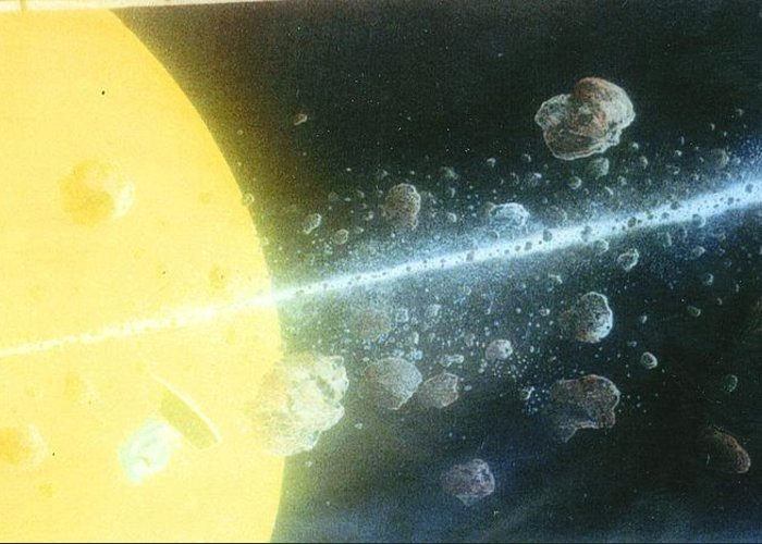 Spacescape Greeting Card featuring the painting View Master by A Robert Malcom