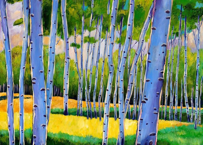 Birch Tree Greeting Cards