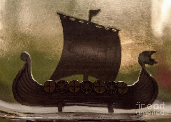 Viking Greeting Card featuring the photograph Viking Boat by Elaine Berger