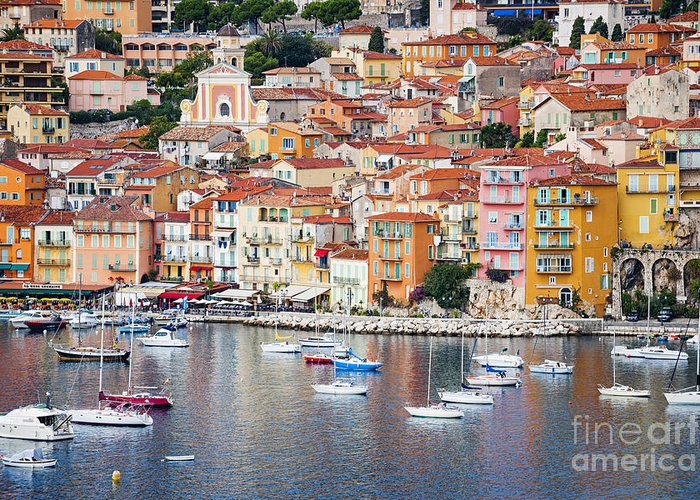 Villefranche Greeting Cards