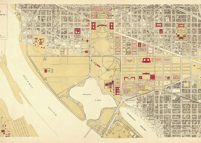Map Of Washington Dc Mall on