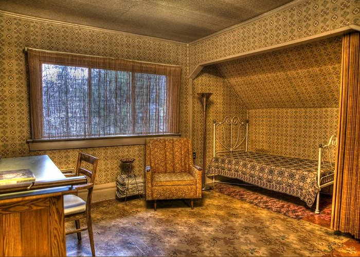 History Greeting Card featuring the photograph Vintage Room by Jason Evans