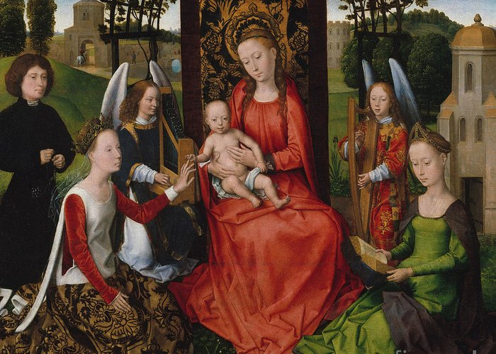 Saint Barbara Greeting Cards