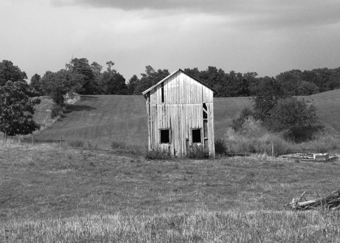 Shed Greeting Card featuring the photograph Virginia Shed by Michael L Kimble