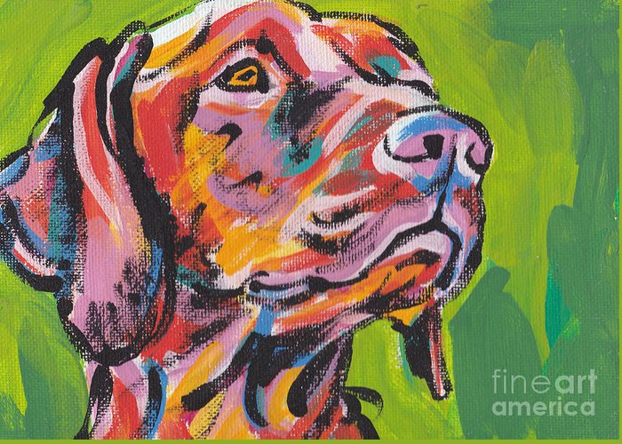 Dog Paintings Greeting Cards