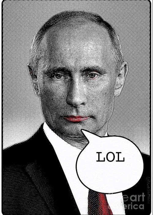 Putin Greeting Cards