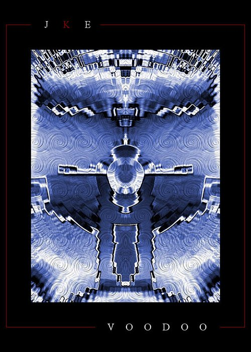 Voodoo Greeting Card featuring the photograph Voodoo by Jonathan Ellis Keys
