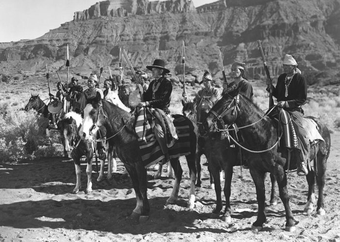 Arizona Greeting Card featuring the photograph Wagons Westward 3 by Bob Bradshaw