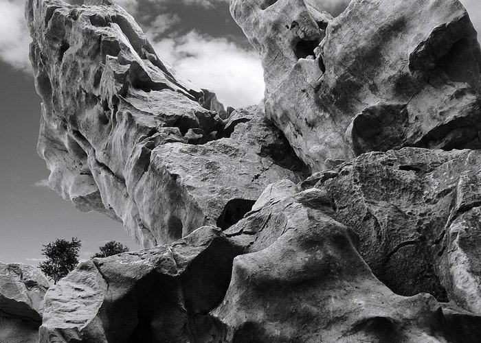 Rocks Greeting Card featuring the photograph Ward Off Evil Spirits by Christine Till