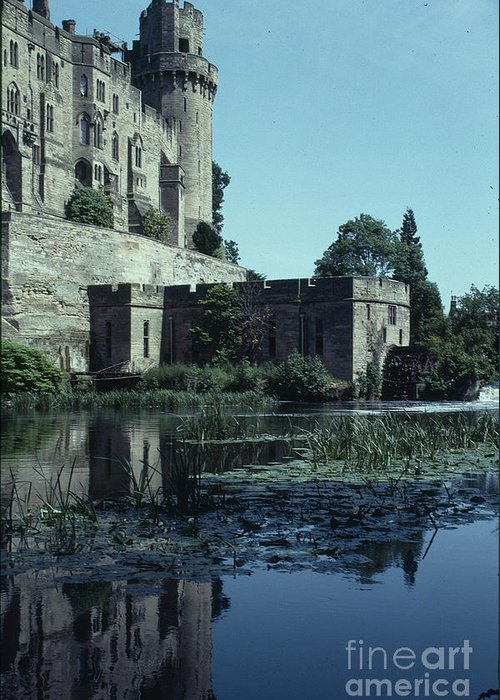Warwick Greeting Card featuring the photograph Warwick Castle by David Pettit