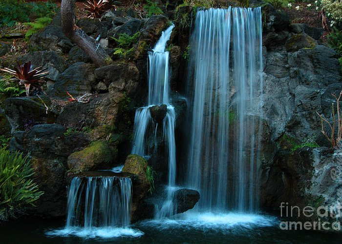 Clay Greeting Card featuring the photograph Waterfalls by Clayton Bruster