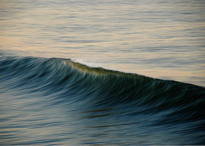 Wave Art Greeting Card featuring the photograph Wave Art by Kelly Wade