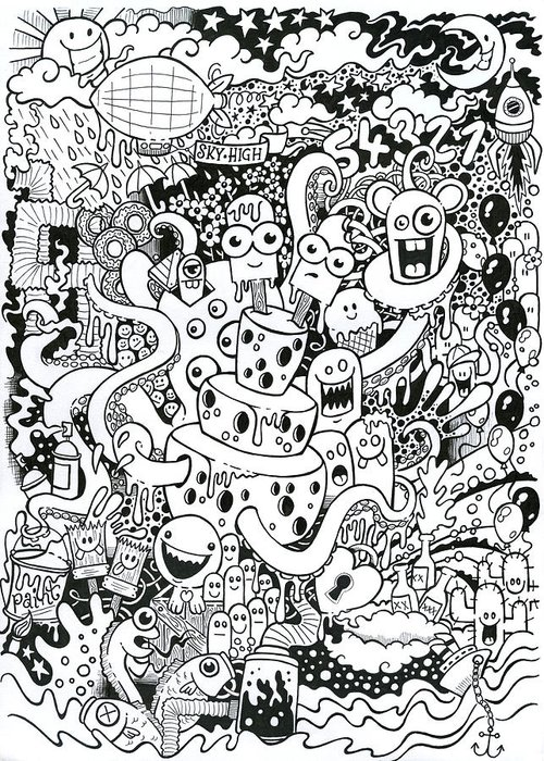 Hand Drawn Drew Drawings Greeting Cards