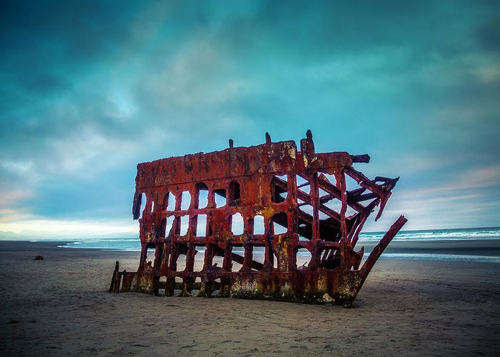 Peter Iredale Greeting Cards