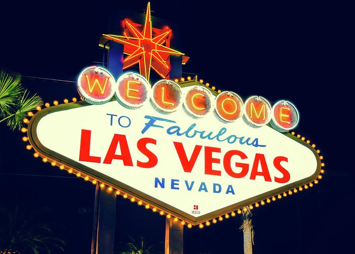Las Vegas Art Greeting Cards