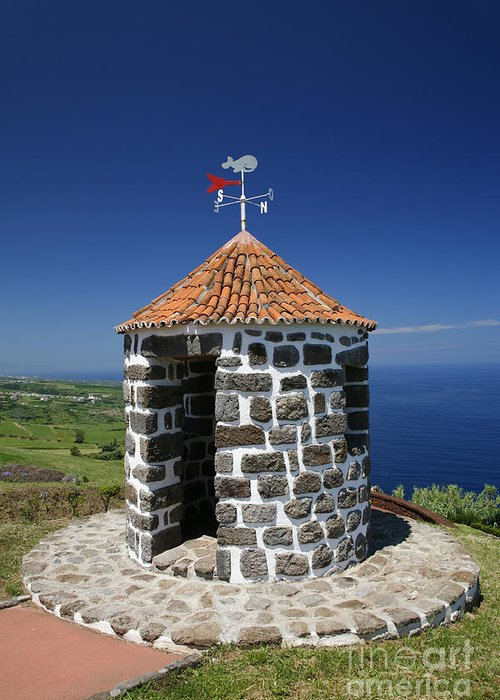 Azores Islands Greeting Card featuring the photograph Whale Lookout Spot by Gaspar Avila