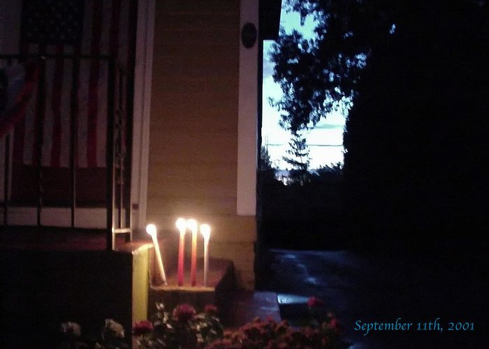 Candles Greeting Card featuring the photograph What We Could Only Do by Ross Powell