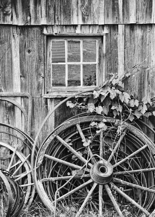 Wheels Greeting Card featuring the photograph Wheels Wheels And More Wheels by Crystal Nederman