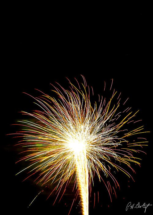 July 4th Greeting Card featuring the photograph White Hot by Phill Doherty