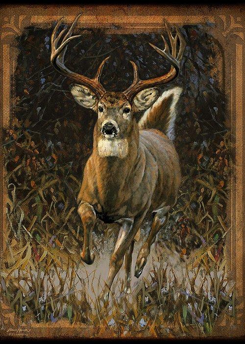 Buck Deer Greeting Cards