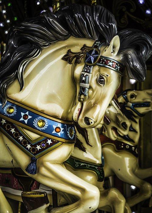 Carousel Pony Greeting Cards