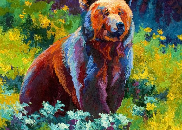 Grizzlies Greeting Cards