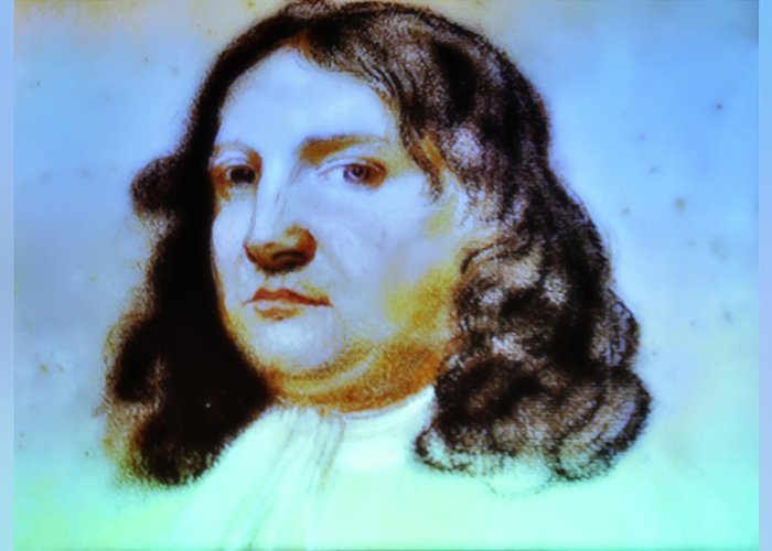 William Penn Greeting Card featuring the photograph William Penn Portrait by Bill Cannon