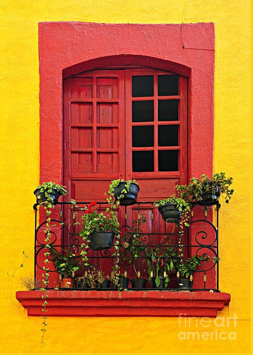 Colorful Houses Greeting Cards