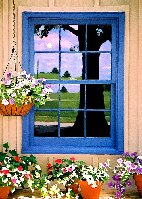 Still Life Greeting Card featuring the photograph Window by Steve Karol