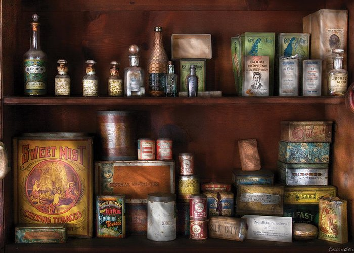Savad Greeting Card featuring the photograph Wine - Rum And Tobacco by Mike Savad
