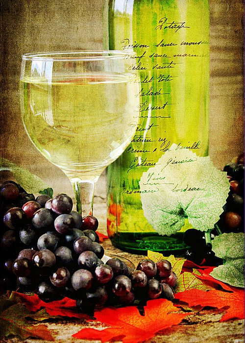 Alcohol Greeting Card featuring the photograph Wine by Darren Fisher